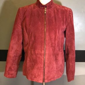 EUC Genuine Leather Jacket Size L